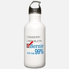 Bernie For The 99% Water Bottle