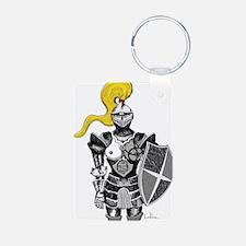 The Blonde Knight Keychains
