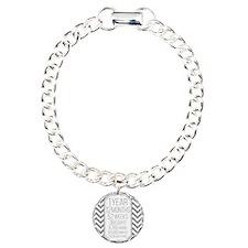 1 Year (Gray Chevron) Bracelet
