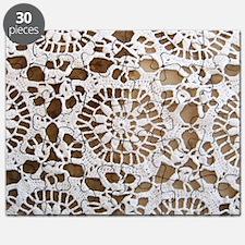 Vintage Lace Wallpaper Puzzle