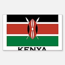 Cute Flag of kenya Decal