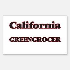 California Greengrocer Decal