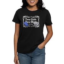 Portlandia Two Girls Two Shirts T-Shirt