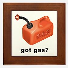 Got Gas? Framed Tile