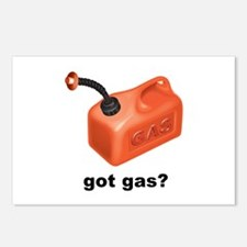 Got Gas? Postcards (Package of 8)