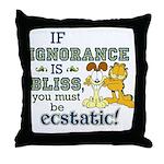 Ignorance Throw Pillow