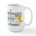 Ignorance Large Mug