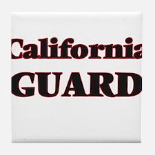 California Guard Tile Coaster
