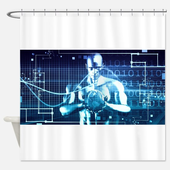 Integrated Technol Shower Curtain