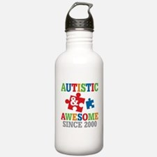 Autistic Awesome Since Water Bottle