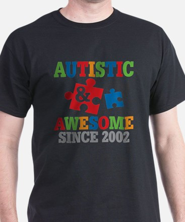 Autistic Awesome Since 2002 T-Shirt