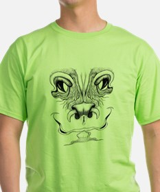Grimmace Happy Monster Face T-Shirt
