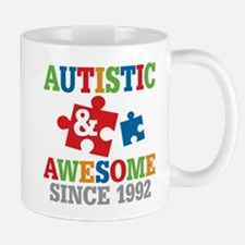 Autistic Awesome Since 1992 Mugs