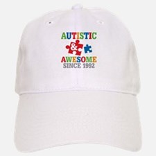Autistic Awesome Since 1992 Baseball Baseball Cap