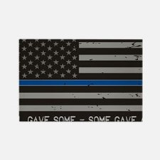 Cute Police Rectangle Magnet
