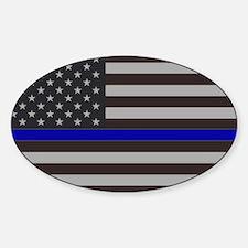 Cool Law enforcement Sticker (Oval)