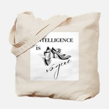 Intelligence is Vogue Tote Bag