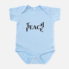Teach Peace Body Suit