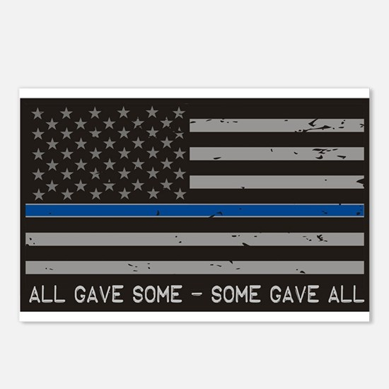Blue Lives Matter Postcards (Package of 8)