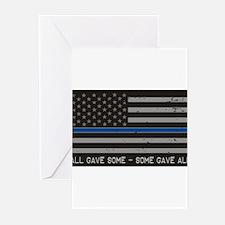 Blue Lives Matter Greeting Cards