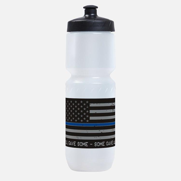 Blue Lives Matter Sports Bottle