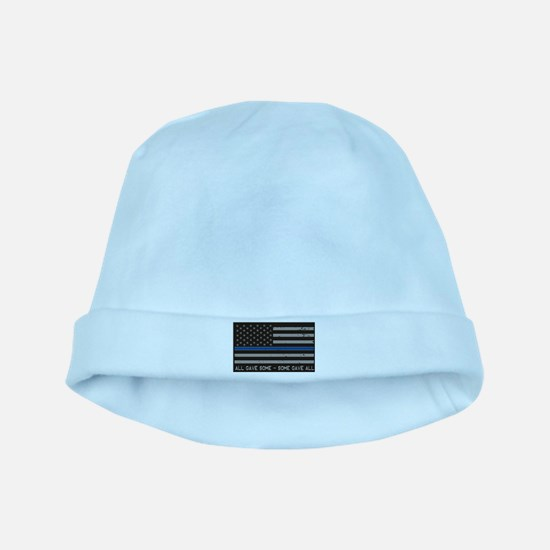 Blue Lives Matter baby hat