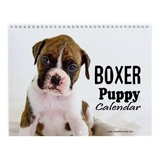 Boxer Puppy Calendar Wall Calendar