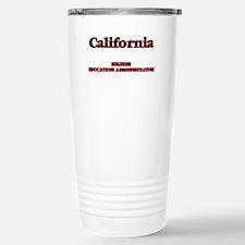 California Higher Educa Stainless Steel Travel Mug