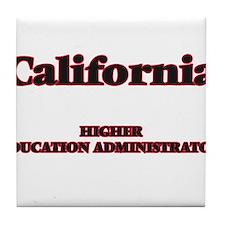 California Higher Education Administr Tile Coaster