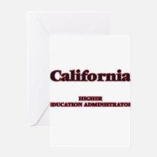 California Higher Education Adminis Greeting Cards