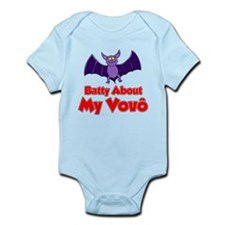 Batty About My Vovo (Grandpa) Body Suit