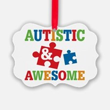 Autistic Awesome Ornament