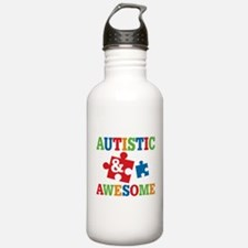 Autistic Awesome Water Bottle