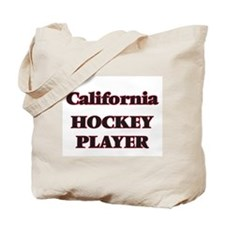 California Hockey Player Tote Bag