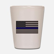 Blue Lives Matter Shot Glass
