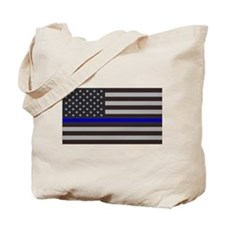 Blue Lives Matter Tote Bag