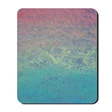 Rainbow Chalk Textured Mousepad
