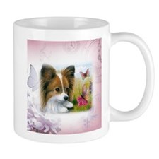 Dog 123 Papillon Mugs