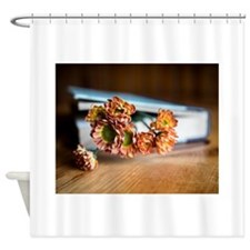 Fragrant Bookmark Shower Curtain