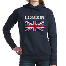 Cute Flags british Women's Hooded Sweatshirt