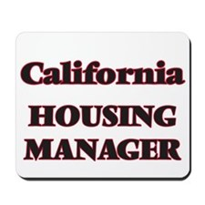 California Housing Manager Mousepad