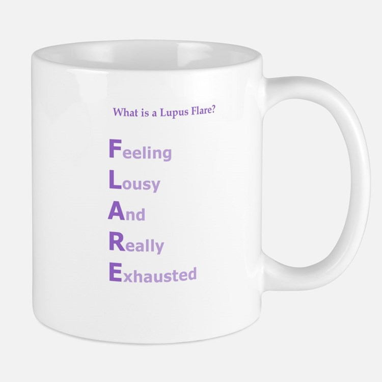 WHAT IS A LUPUS FLARE?  Mug