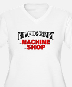 """The World's Greatest Machine Shop"" T-Shirt"