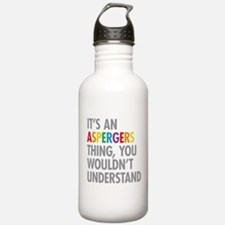 Aspergers Thing Water Bottle