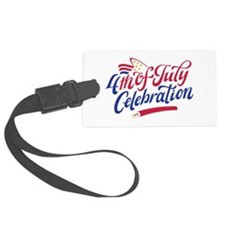 4th Of July Celebration Luggage Tag