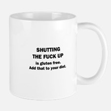 Shutting Up Mug