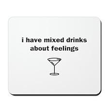 Mixed Drinks Mousepad