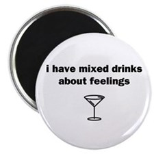 Mixed Drinks Magnet