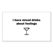 Mixed Drinks Decal