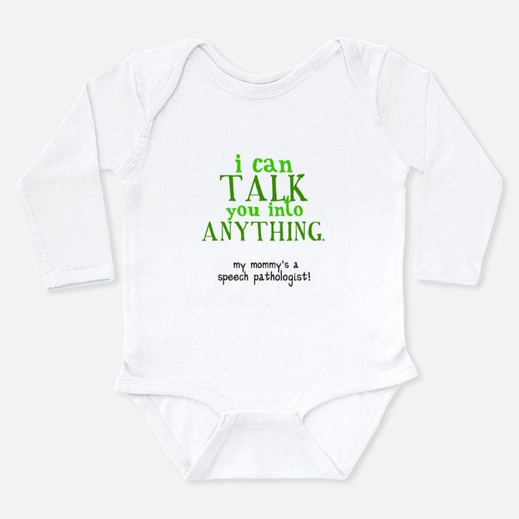 Cute Pathology Long Sleeve Infant Bodysuit